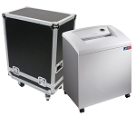 M-12T DOD High Security Paper Shredder w/ Deployment Case