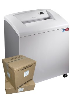 M-12TC DOD High Security Paper Shredder Package w/ Supplies