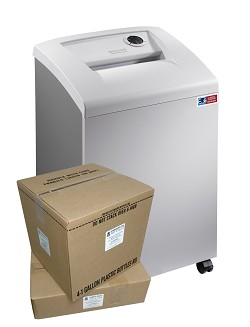 M-10CTC DOD High Security Shredder Package w/ Supplies