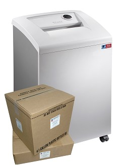 M-11CTC DOD High Security Shredder Package w/ Supplies