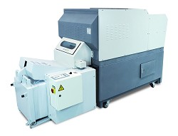 SX-89B Industrial Conveyor Shredder/Baler